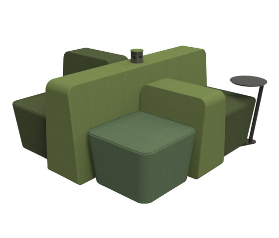 Mint Lounge Chair by Rossin | Seating islands