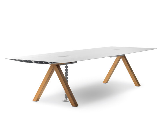 Table B - Cable management by BD Barcelona | Contract tables