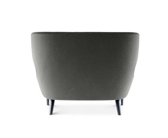 Micro Wingback Sofa Black Leg Hallingdal 65 by Tom Dixon | Sofas