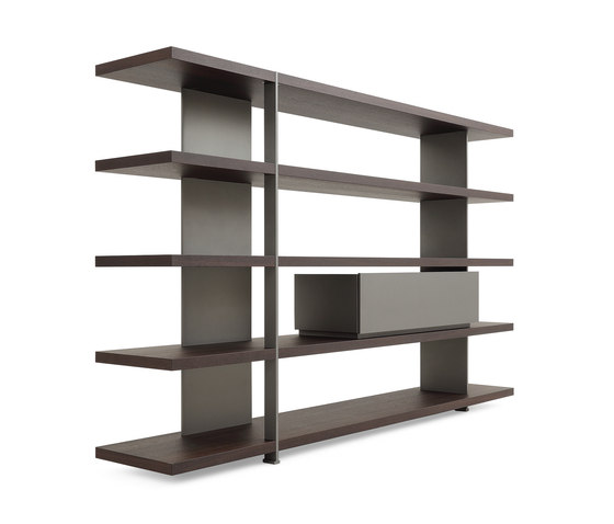 Bristol System Bookcase by Poliform   Shelving