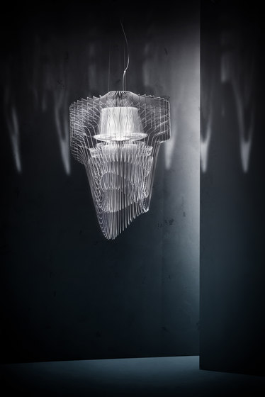 Aria Transparent suspension von Slamp | Allgemeinbeleuchtung