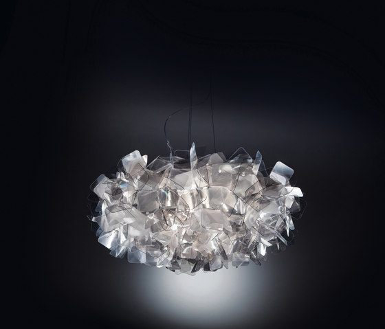 Clizia Fumé suspension by Slamp | Suspended lights