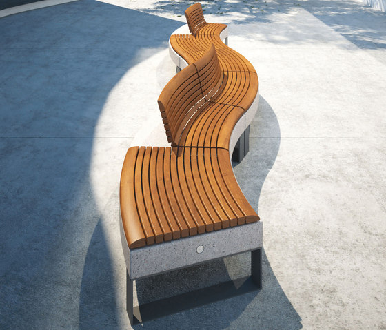 Diamante by Metalco | Benches