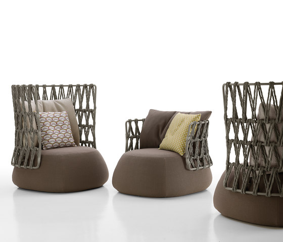 Fat Sofa outdoor by B&B Italia | Garden armchairs