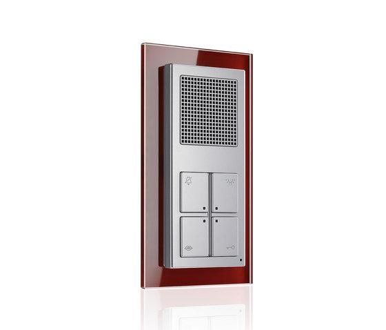 A creation-design Aluminium Audio-Interior-Station de JUNG | Intercomunicación exterior