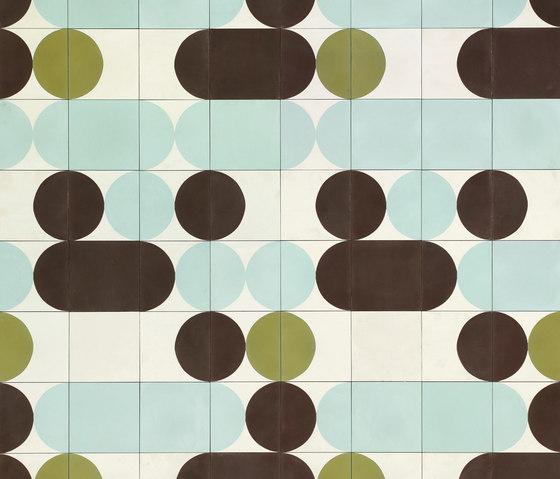 Mahdavi Pill Cocktail by Bisazza | Concrete tiles