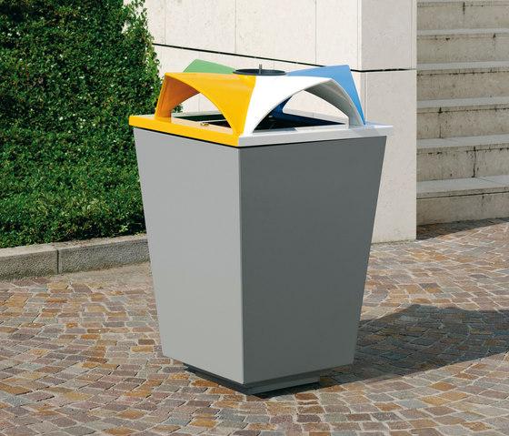 Ecomix di Metalco | Cestini spazzatura