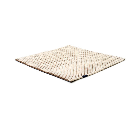 Nordic Flower ivory & nougat by kymo | Rugs