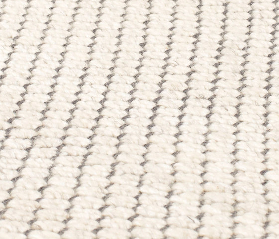 Nordic Flower ivory & grey by kymo | Rugs