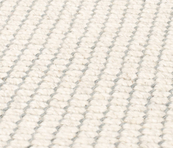Nordic Flower ivory & icey blue by kymo | Rugs