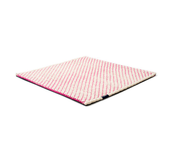 Nordic Flower ivory & pink by kymo | Rugs