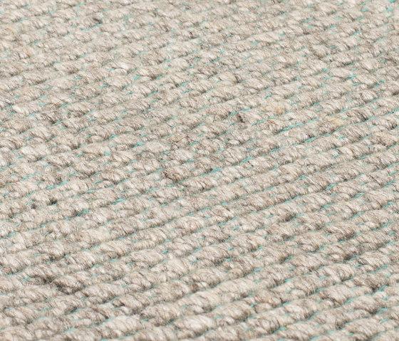Nordic Plain nature & turquoise de kymo | Alfombras / Alfombras de diseño
