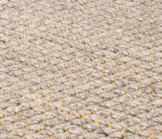 Nordic Plain nature & yellow von kymo | Formatteppiche