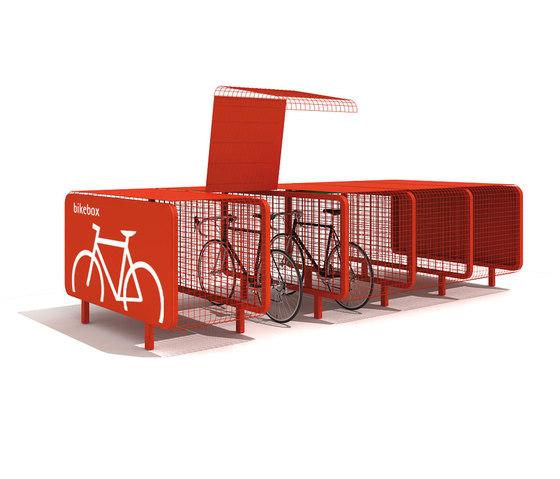 Bike Box by Metalco   Bicycle lockers
