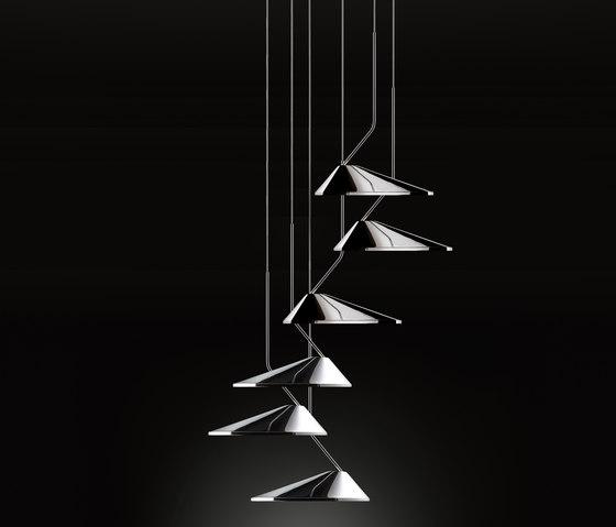 Nón Lá SET-6 by BOVER | Suspended lights