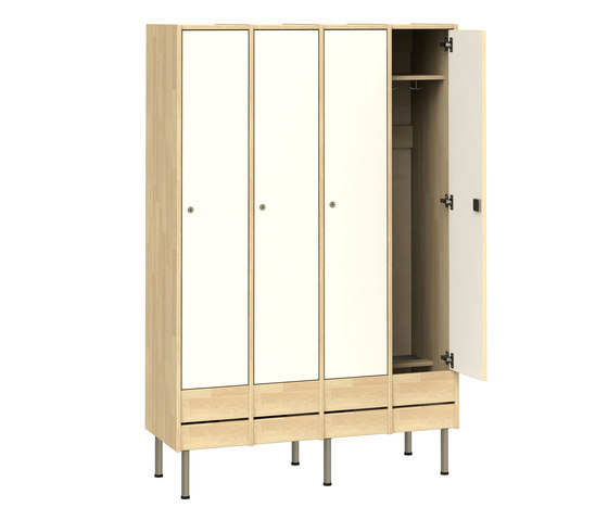Wardrobe for adults W218 by Woodi | Lockers