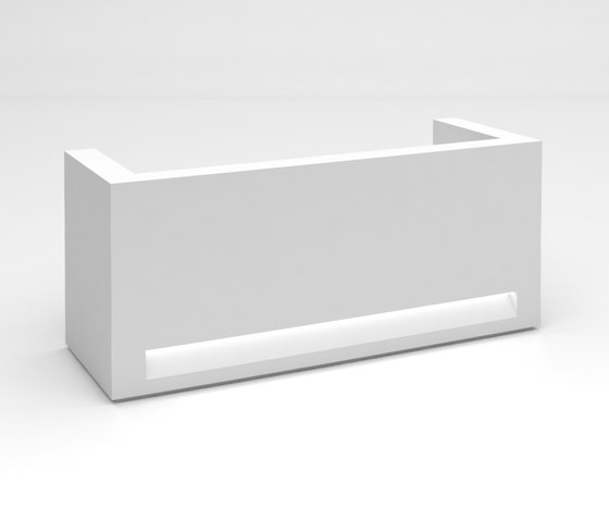 Blok Reception Desk Configuration 3 by Isomi | Counters