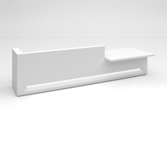 Blok Reception Desk Configuration 5 by Isomi | Counters