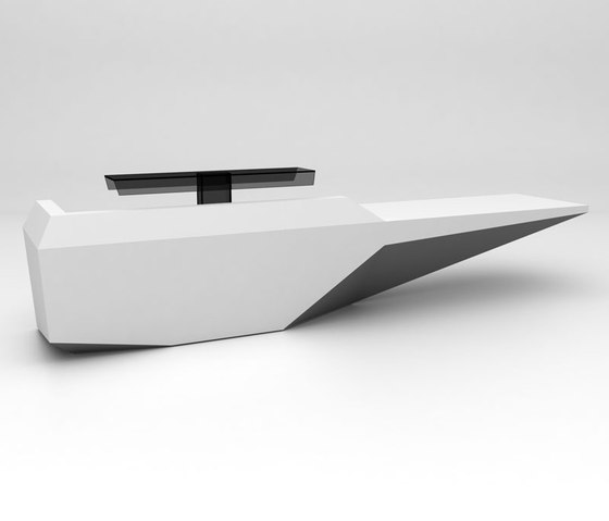 Fold Reception Desk Configuration 3 de Isomi | Comptoirs