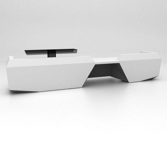 Fold Reception Desk Configuration 5 de Isomi | Banques d'accueil