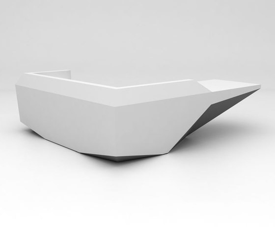 Fold Reception Desk Configuration 8 de Isomi | Mostradores