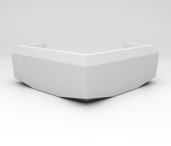 Fold Reception Desk Configuration 9 de Isomi | Banques d'accueil