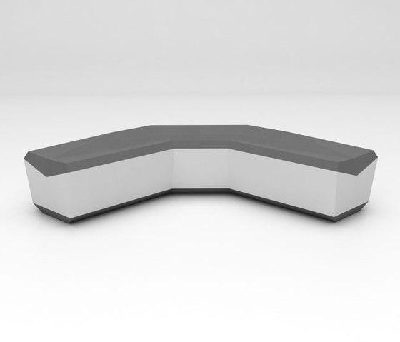 Fold Seating Configuration 4 de Isomi | Canapés