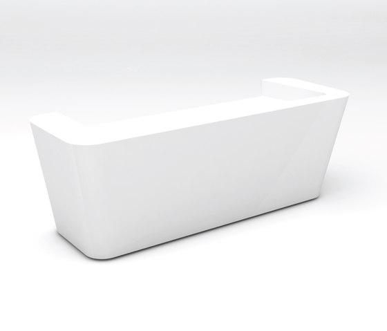 Mono Desk configuration 1 de Isomi | Banques d'accueil