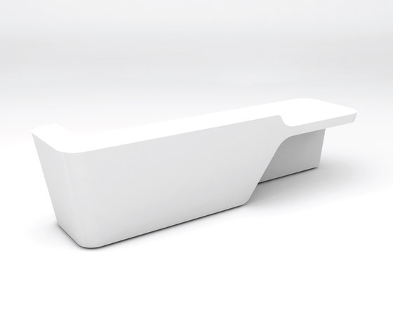 Mono Desk configuration 2 by Isomi | Counters
