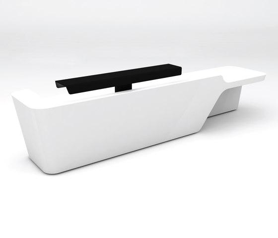 Mono Desk configuration 3 de Isomi   Comptoirs