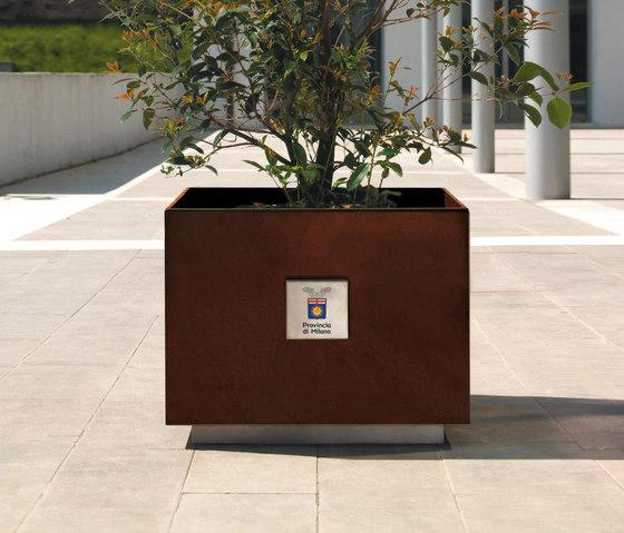 Dahlia by Metalco | Plant pots