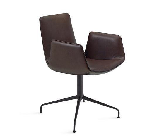Amelie | Armchair mit Sternfuß von FREIFRAU MANUFAKTUR | Stühle