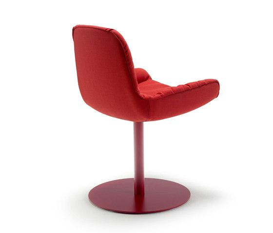 Leya | Armchair Low mit Tellerfuß von FREIFRAU MANUFAKTUR | Stühle