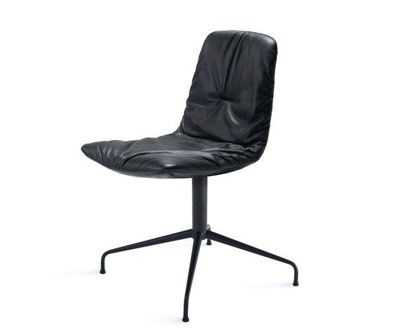 Leya | Chair with trestle leg de Freifrau Sitzmöbelmanufaktur | Sillas