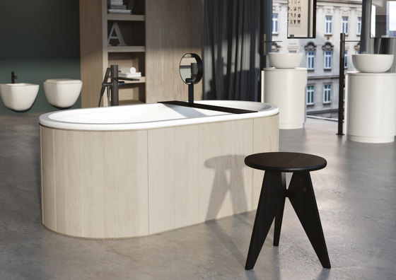 Arcadia Cibele bathtub de Ceramica Cielo | Bañeras