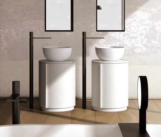 Arcadia Tiberino cabinet and round top de Ceramica Cielo | Armarios lavabo