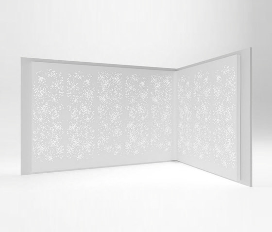 Light Wall Configuration 4 by Isomi | Privacy screen