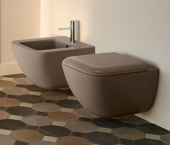Shui Comfort wc | bidet de Ceramica Cielo | Bidés