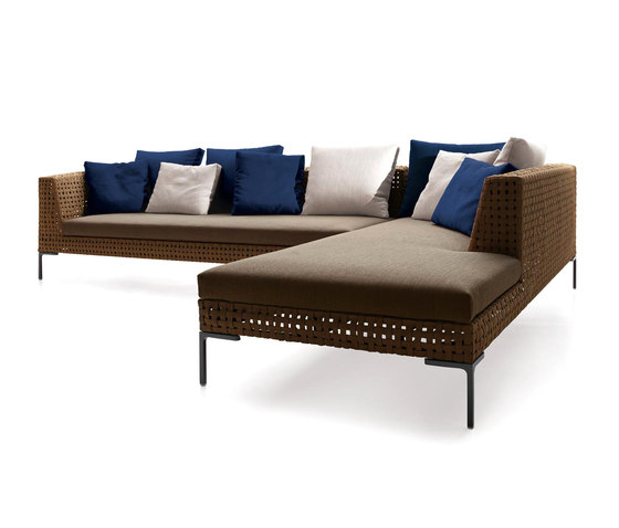 Charles Outdoor by B&B Italia | Garden sofas