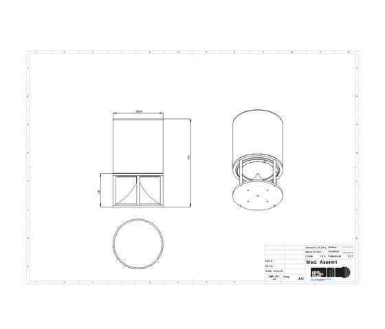 Cylinder Short premium stones by Architettura Sonora   Speakers