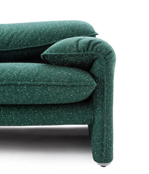 675 maralunga 40 lounge sofas from cassina architonic - Divano cassina maralunga ...
