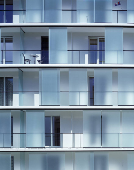 GM LIGHTROLL Fassade 10/12 by Glas Marte | Shutters