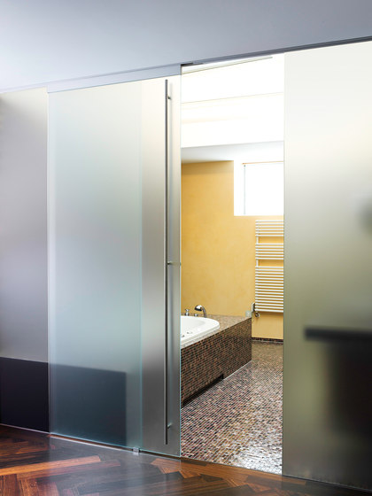 GM TOPROLL 100 by Glas Marte | Internal doors