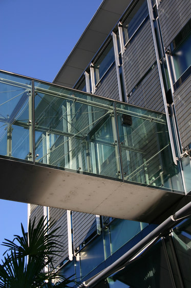 GM UNISHIELD by Glas Marte | Facade fixing systems