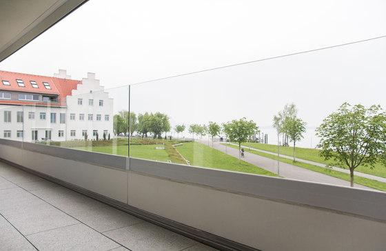GM RAILING® UNI Side by Glas Marte | Balustrades / Handrails