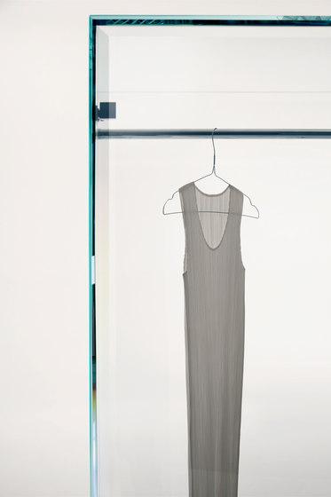 Prism Glass Closet de Glas Italia | Armoires