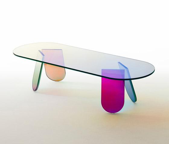 Shimmer tavolini de Glas Italia | Mesas de centro