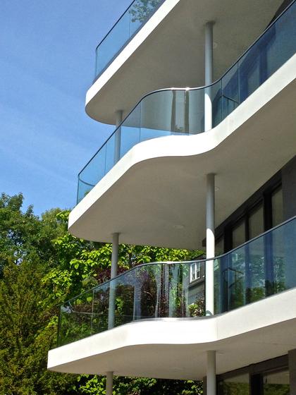GM RAILING® Bent by Glas Marte   Balustrades / Handrails