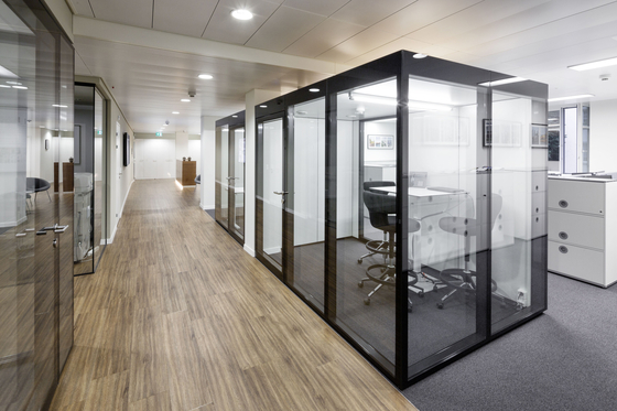 GM MARTITION® Raum in Raum by Glas Marte | Sound absorbing architectural systems