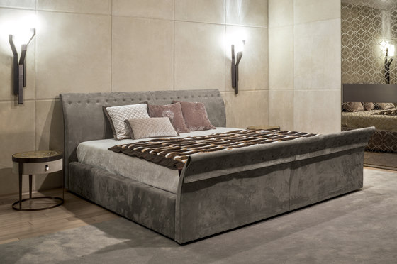 Charme Bed by Longhi S.p.a. | Double beds